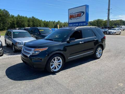 2013 Ford Explorer for sale at Billy Ballew Motorsports in Dawsonville GA
