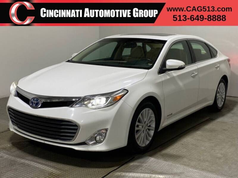 2013 Toyota Avalon Hybrid for sale at Cincinnati Automotive Group in Lebanon OH
