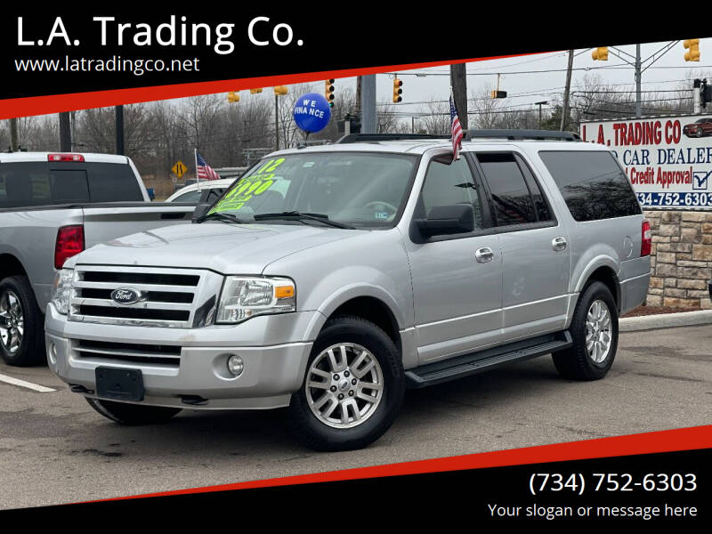 2012 Ford Expedition EL for sale at L.A. Trading Co. in Woodhaven MI
