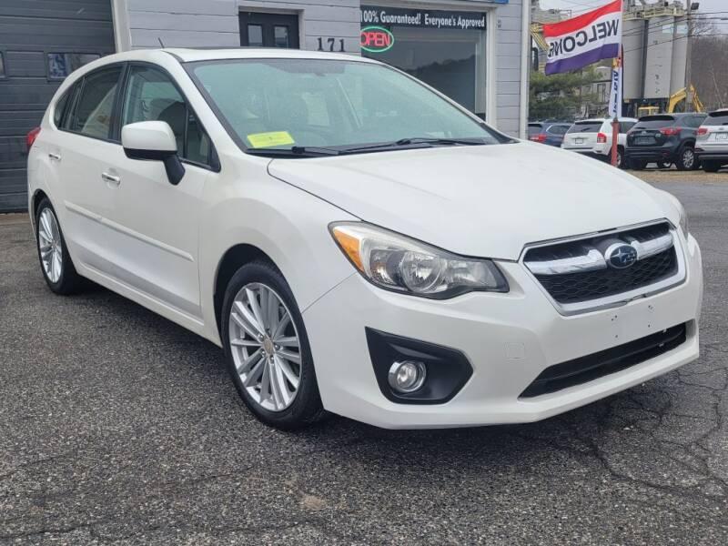 2013 Subaru Impreza for sale at Clinton MotorCars in Shrewsbury MA