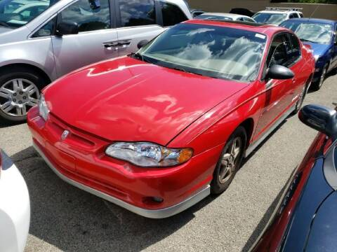 2002 Chevrolet Monte Carlo for sale at Glory Auto Sales LTD in Reynoldsburg OH
