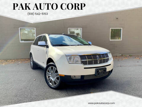 2008 Lincoln MKX for sale at Pak Auto Corp in Schenectady NY