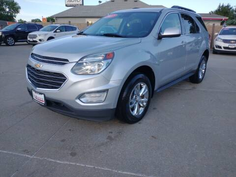 2017 Chevrolet Equinox for sale at Triangle Auto Sales 2 in Omaha NE