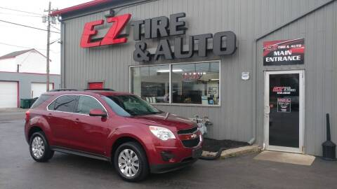 2010 Chevrolet Equinox for sale at EZ Tire & Auto in North Tonawanda NY