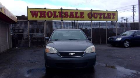 2008 Chevrolet Malibu Classic for sale at LONG BROTHERS CAR COMPANY in Cleveland OH