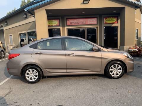 2014 Hyundai Accent for sale at Advantage Auto Sales in Garden City ID