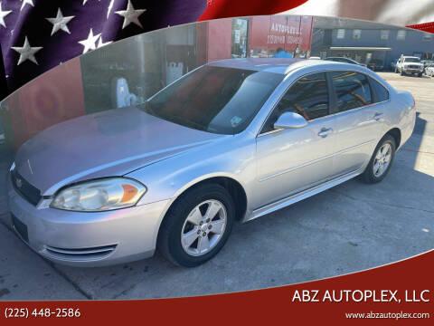 2011 Chevrolet Impala for sale at ABZ Autoplex, LLC in Baton Rouge LA