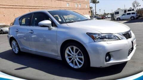 2011 Lexus CT 200h for sale at A Quality Auto Sales in Huntington Beach CA