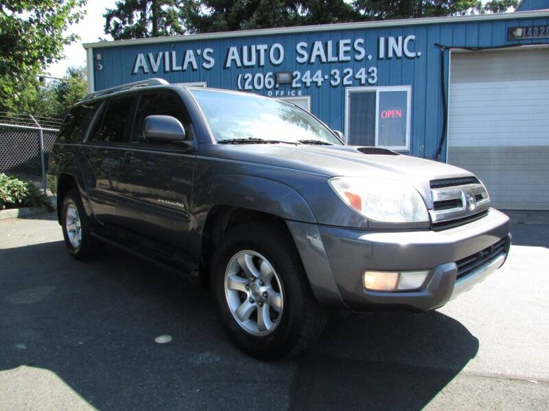 2004 Toyota 4Runner for sale at Avilas Auto Sales Inc in Burien WA