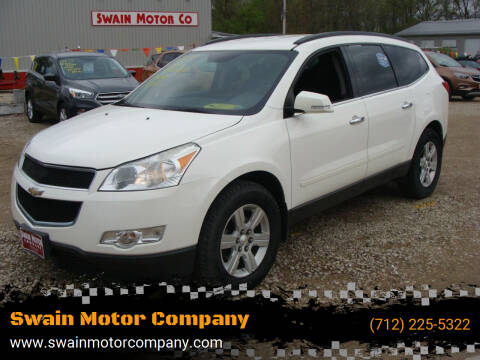 2011 Chevrolet Traverse for sale at Swain Motor Company in Cherokee IA
