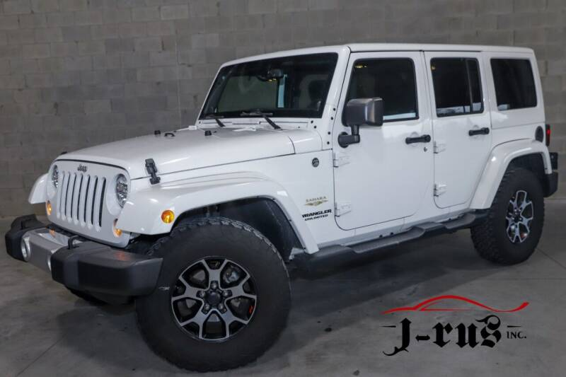 2014 Jeep Wrangler Unlimited for sale at J-Rus Inc. in Macomb MI