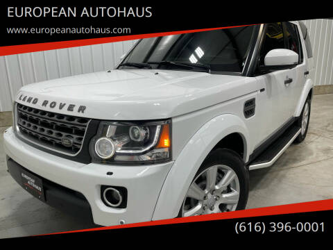 2016 Land Rover LR4 for sale at EUROPEAN AUTOHAUS in Holland MI