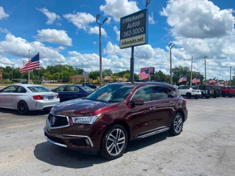 2017 Acura MDX for sale at Michaels Autos in Orlando FL