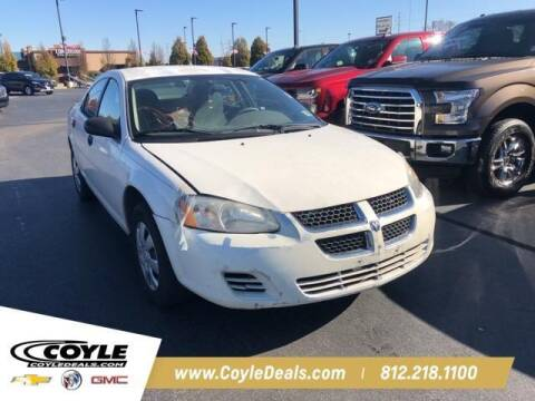 2004 Dodge Stratus for sale at COYLE GM - COYLE NISSAN - New Inventory in Clarksville IN