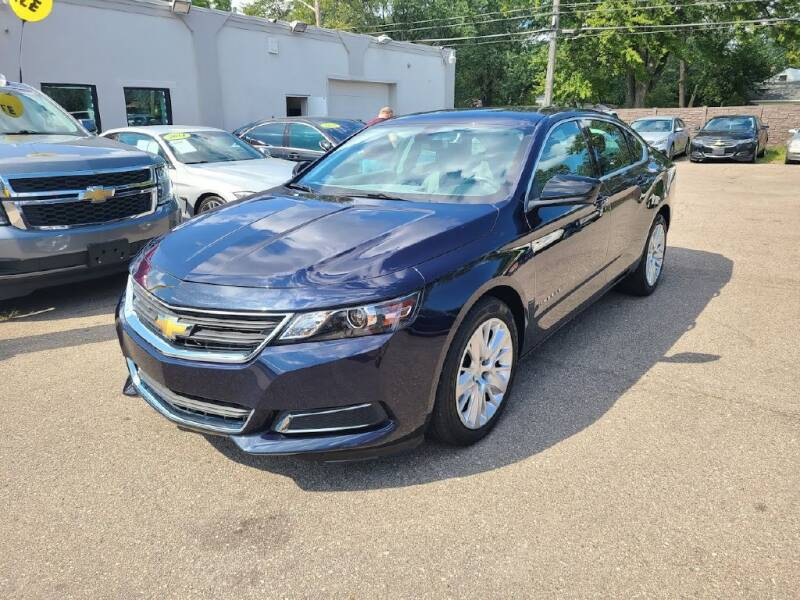 2019 Chevrolet Impala for sale at Redford Auto Quality Used Cars in Redford MI