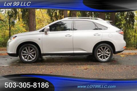 2015 Lexus RX 350 for sale at LOT 99 LLC in Milwaukie OR
