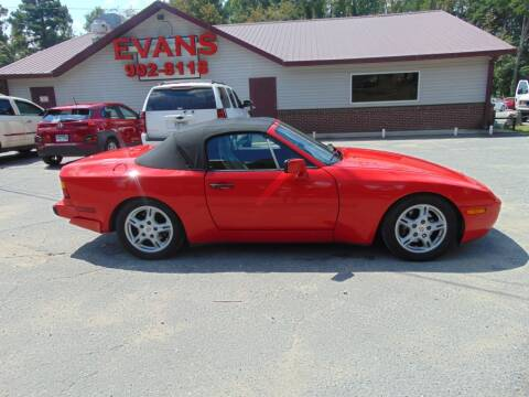 1990 Porsche 944 for sale at Evans Motors Inc in Little Rock AR