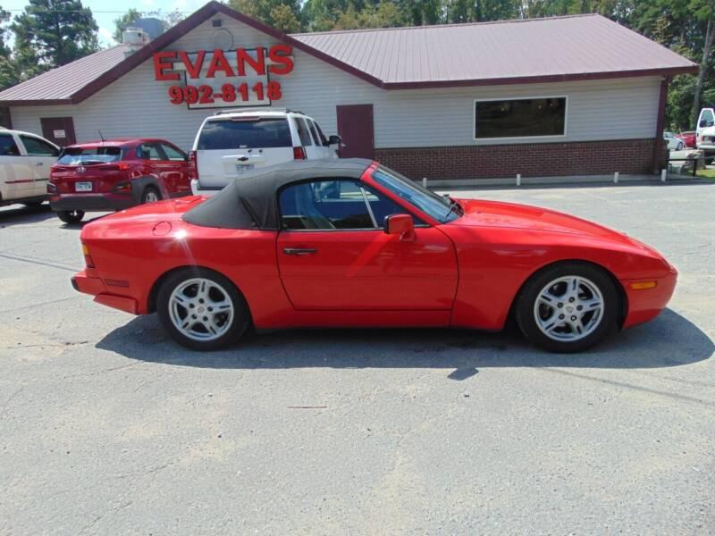1990 Porsche 944 for sale at Evans Motors Inc in Little Rock AR