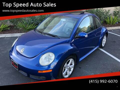 2007 Volkswagen New Beetle for sale at Top Speed Auto Sales in Fremont CA