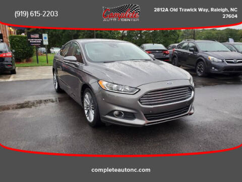 2013 Ford Fusion for sale at Complete Auto Center , Inc in Raleigh NC