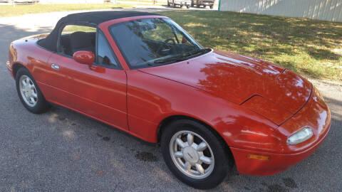 1990 Mazda MX-5 Miata for sale at Haigler Motors Inc in Tyler TX