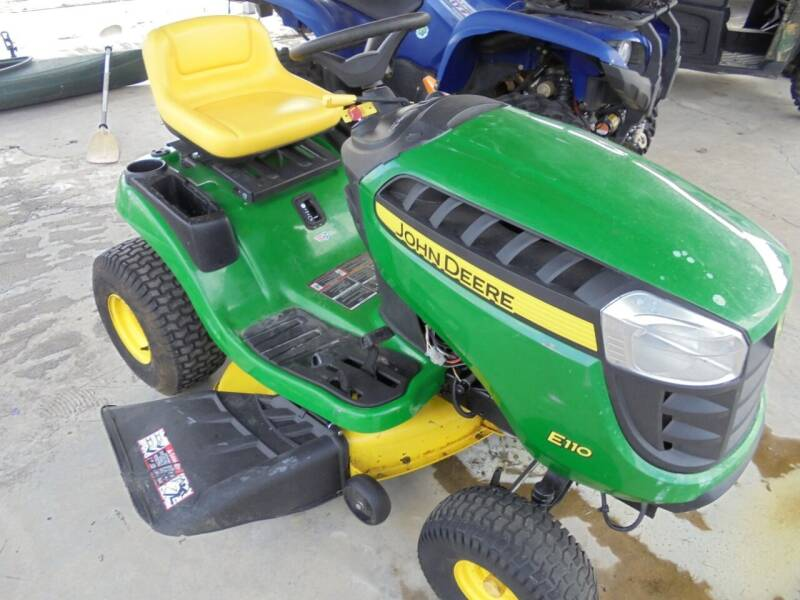 2019 John Deere E110 for sale at US PAWN AND LOAN in Austin AR