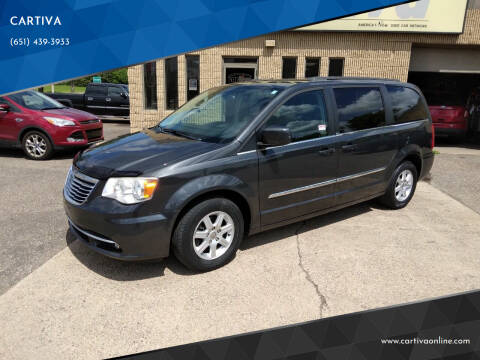2012 Chrysler Town and Country for sale at CARTIVA in Stillwater MN