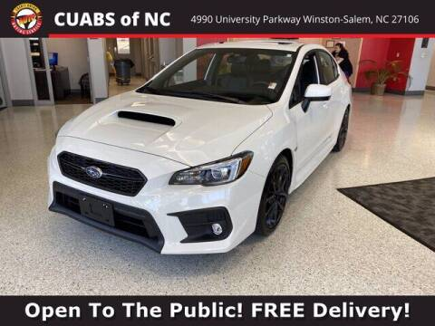 2020 Subaru WRX for sale at Credit Union Auto Buying Service in Winston Salem NC