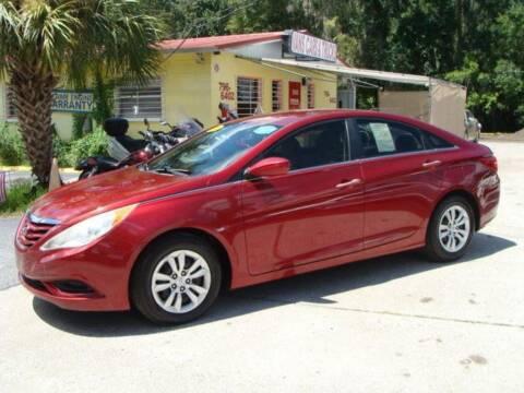 2012 Hyundai Sonata for sale at VANS CARS AND TRUCKS in Brooksville FL