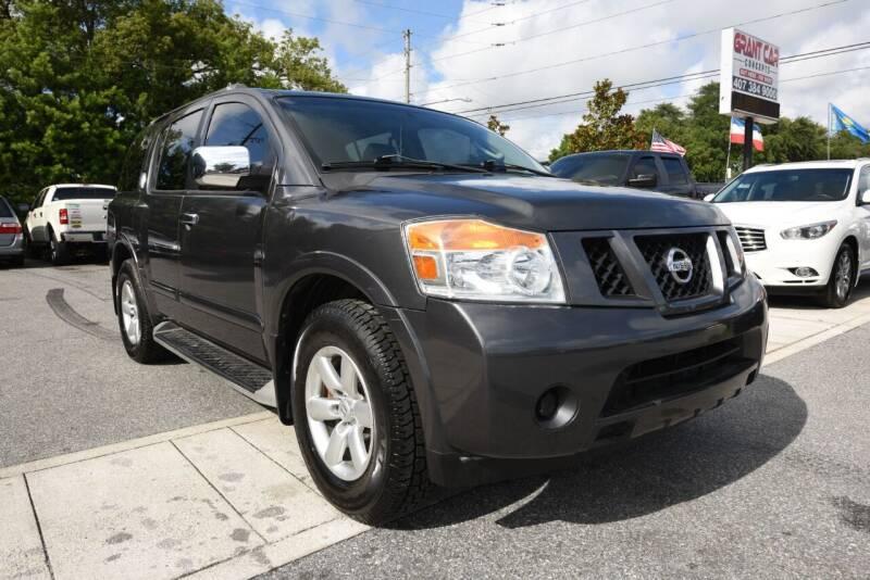 2008 Nissan Armada for sale at Grant Car Concepts in Orlando FL