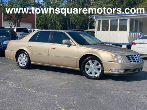 2006 Cadillac DTS for sale at Town Square Motors in Lawrenceville GA