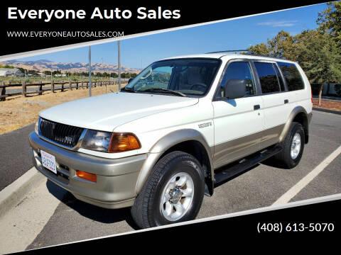 1998 Mitsubishi Montero Sport for sale at Everyone Auto Sales in Santa Clara CA