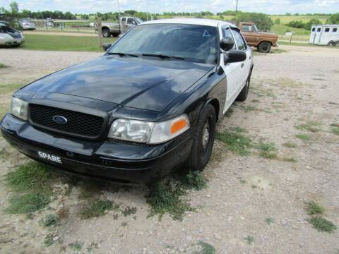 2011 Ford Crown Victoria for sale at Hill Top Sales in Brenham TX