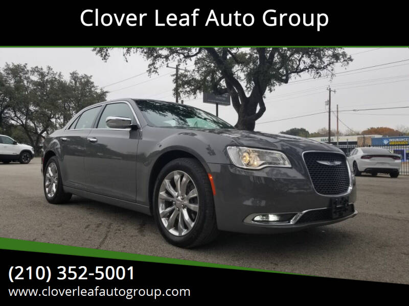 2018 Chrysler 300 for sale at Clover Leaf Auto Group in San Antonio TX