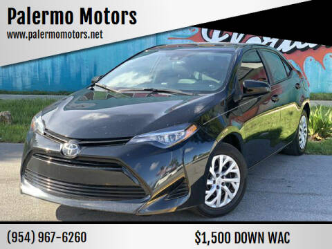 2019 Toyota Corolla for sale at Palermo Motors in Hollywood FL