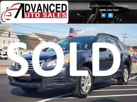 2011 Subaru Outback for sale at Advanced Auto Sales in Dracut MA