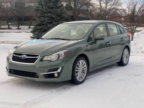 2016 Subaru Impreza for sale at North Imports LLC in Burnsville MN