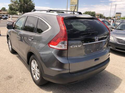 2012 Honda CR-V for sale at Top Gun Auto Sales, LLC in Albuquerque NM