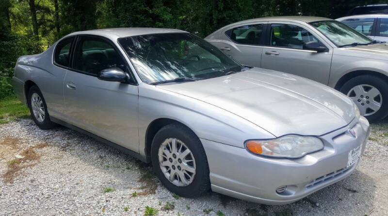 2005 Chevrolet Monte Carlo for sale at Victory Auto Sales LLC in Mooreville MS