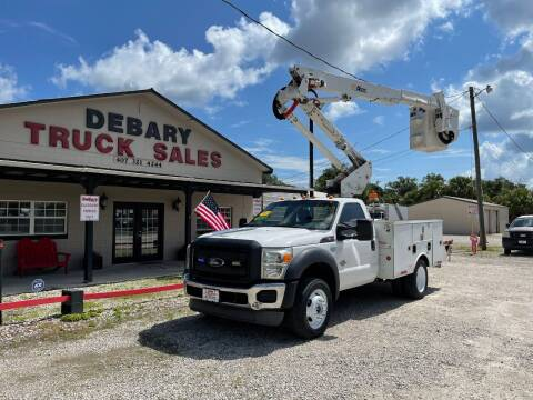 2013 Ford F-450 Super Duty for sale at DEBARY TRUCK SALES in Sanford FL