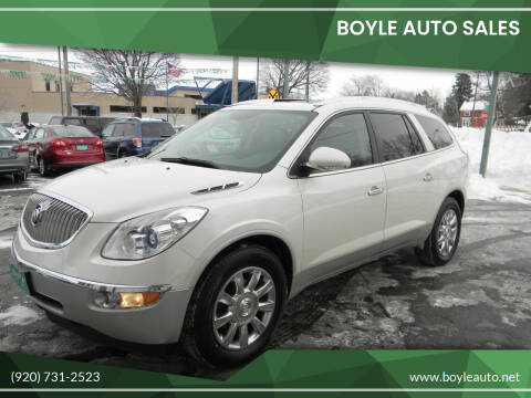 2012 Buick Enclave for sale at Boyle Auto Sales in Appleton WI