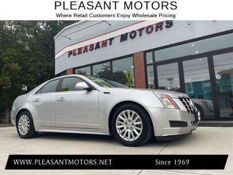 2013 Cadillac CTS for sale at Pleasant Motors in New Bedford MA