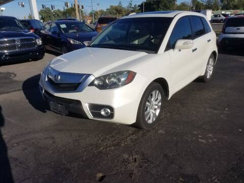 2010 Acura RDX for sale at Nonstop Motors in Indianapolis IN