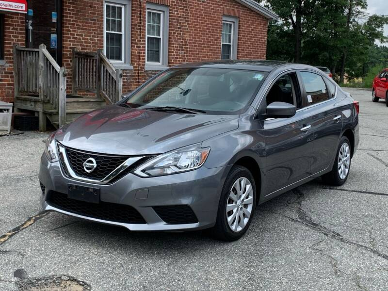 2016 Nissan Sentra for sale at Ludlow Auto Sales in Ludlow MA