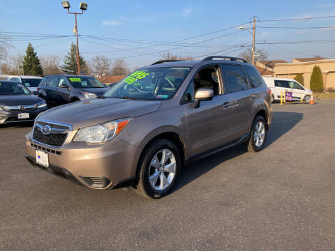 2015 Subaru Forester for sale at Majestic Automotive Group in Cinnaminson NJ