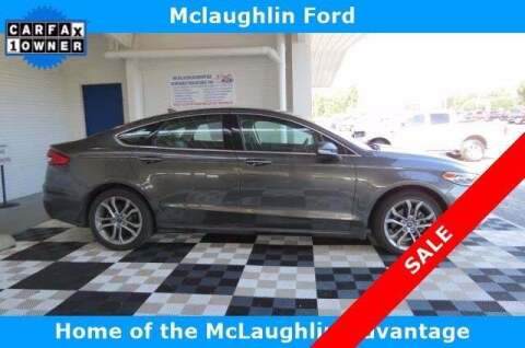2019 Ford Fusion for sale at McLaughlin Ford in Sumter SC
