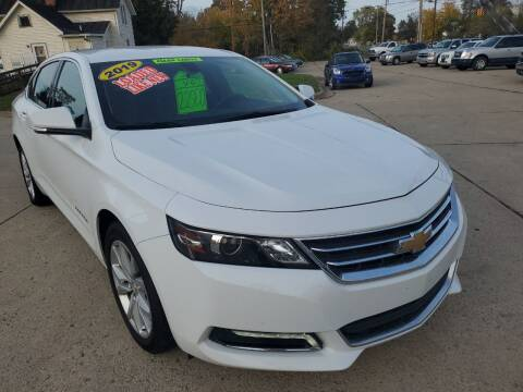 2019 Chevrolet Impala for sale at Kachar's Used Cars Inc in Monroe MI