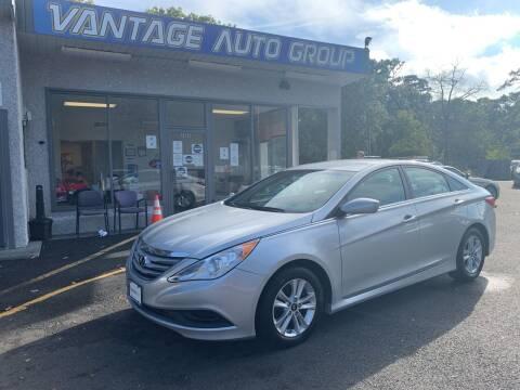 2014 Hyundai Sonata for sale at Vantage Auto Group in Brick NJ