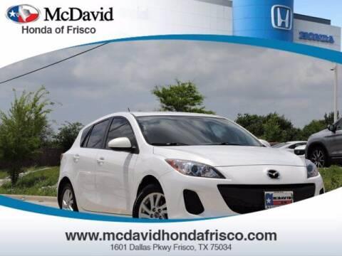 2013 Mazda MAZDA3 for sale at DAVID McDAVID HONDA OF IRVING in Irving TX