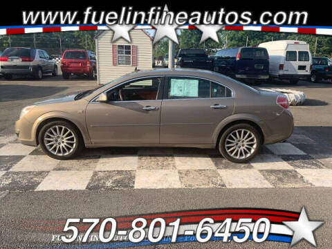 2008 Saturn Aura for sale at FUELIN FINE AUTO SALES INC in Saylorsburg PA